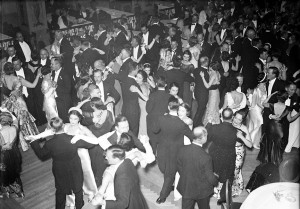 Dance Floor With Couples 1934