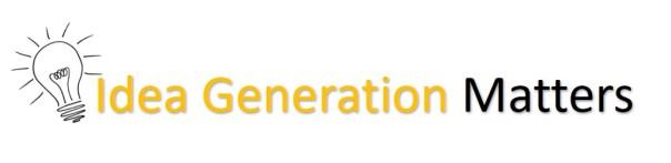 IDEA GENERATION MATTERS